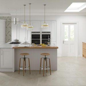 grey kitchen doors replacement
